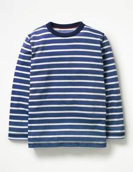 Beacon Blue/Ecru Supersoft T-shirt