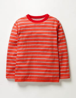Ziggy Red/Grey Marl Supersoft T-shirt