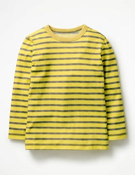 Sweetcorn Yellow/Charcoal Marl Supersoft T-shirt