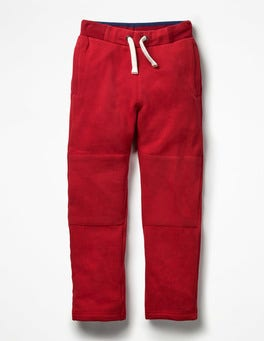 Engine Red Warrior Knee Sweatpants