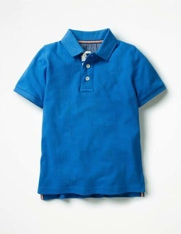 Skipper Blue Piqué Polo Shirt