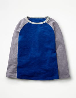 Orion Blue/Washed Lavender Raglan T-shirt