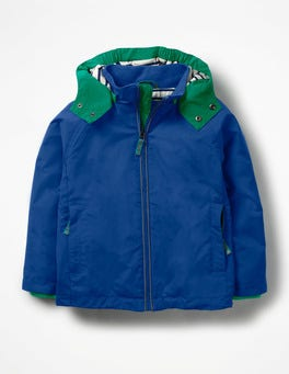 Orion Blue Jersey-lined Anorak