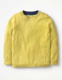 Sweetcorn Yellow Crew Sweater