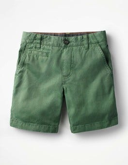 Rosemary Green Chino Shorts
