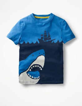 Skipper Blue Shark High Seas T-shirt