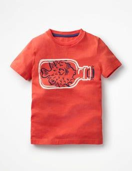 Melon Crush Red Pufferfish High Seas T-shirt