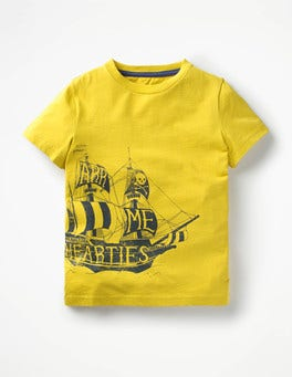 Wasp Yellow Pirate Ship High Seas T-shirt