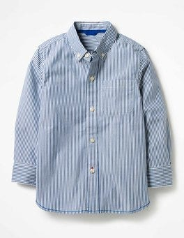Orion Blue/Ecru Laundered Shirt