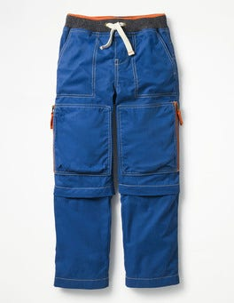 Orion Blue Zip-off Techno Trousers