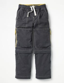 Tyne Grey Zip-off Techno Trousers