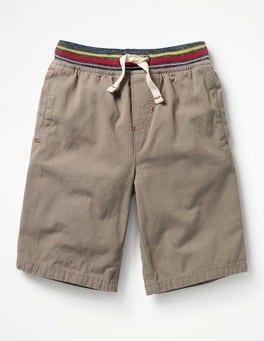 Scout Green Rib Waist Shorts