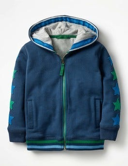 Starry Zip-up Hoodie