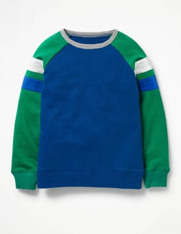 Beacon Blue Sporty Sweatshirt