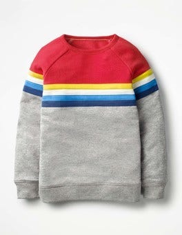 Grey Marl Sporty Sweatshirt