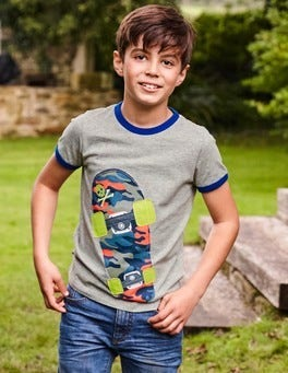Tipped Sports T-shirt