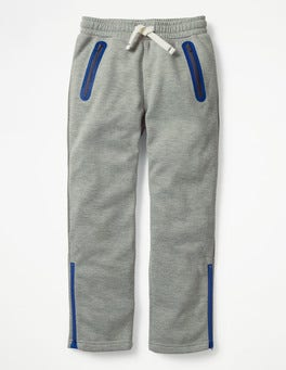 Grey Marl Active Track Pants