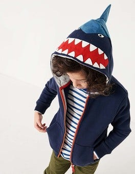 Shark Zip-through Hoodie