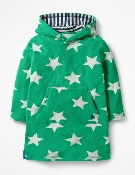 Astro Green Large Star Towelling Throw-on