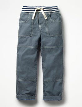 Cobble Grey Lined Mariner Trousers