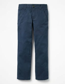 School Navy Chinos