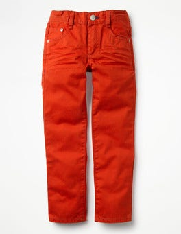Ziggy Red Coloured Slim Jeans
