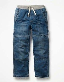 Light Vintage Rib Waist Carpenter Pants