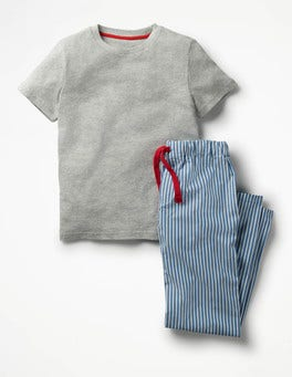 Skipper Blue/Ecru Pyjama Set