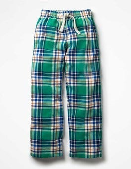 Brushed Check Bottoms