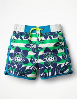 Astrogrün/Hawaii-Ecru Surfshorts