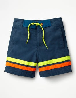Beacon Blue/Safety Yellow Poolside Shorts