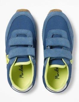 Overboard Blue Suede Sneakers