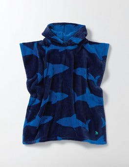 Beacon Shark Towelling Poncho