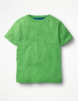 Iguana Green Slub Washed T-shirt