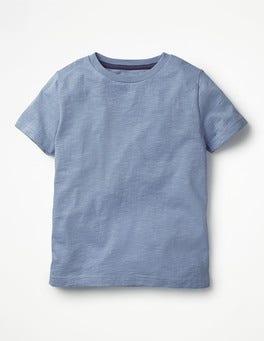 Hook Blue Slub Washed T-shirt