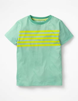 Aloha Green Slub Washed T-shirt