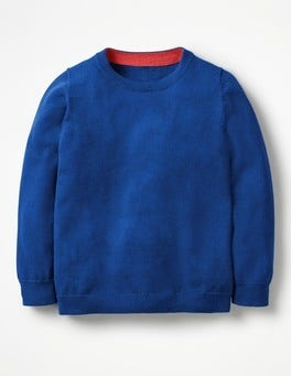 Orion Blue Crew Jumper