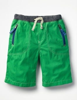 Runner Bean Green Adventure Shorts