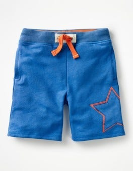 Skipper Blue Star Appliqué Sweatshorts
