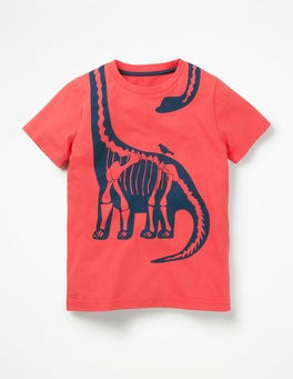 Jam Red Diplodocus Wraparound T-shirt