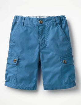 Yogo Blue Summer Cargo Shorts