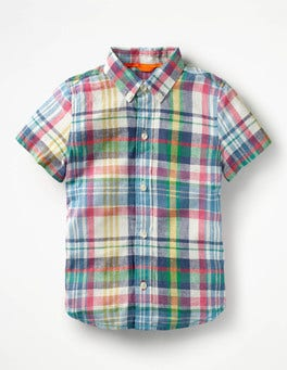 Caspian Blue Multi Fun Short-sleeved Shirt