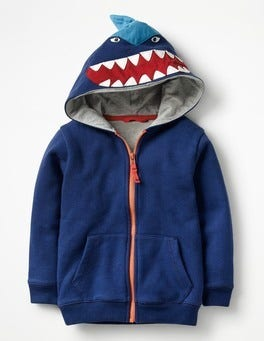 Beacon Shark Zip-through Hoodie
