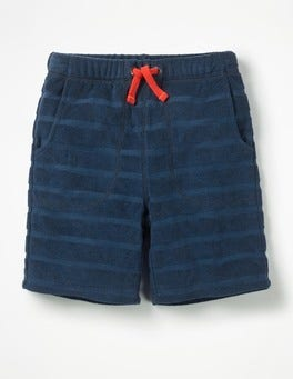 Beacon Blue Towelling Shorts