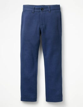 Beacon Blue Jersey Chinos