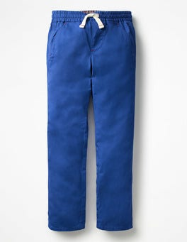Orion Blue Pull-on Chinos