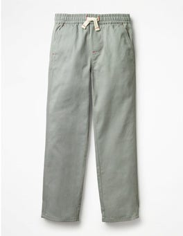 Tank Green Pull-on Chinos