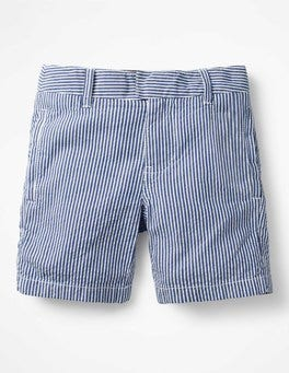 Duke Blue/Ecru Seersucker Smart Shorts