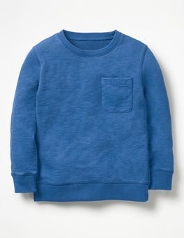 Orion Blue Garment-Dyed Sweatshirt