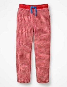 Salsa Red/Grey Marl Towelling Sweatpants